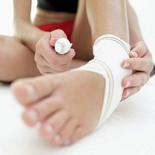 Ушибы ноги и их лечение народными средствами